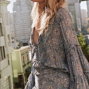 Spell & the Gypsy Celestial Blouse in Chambray